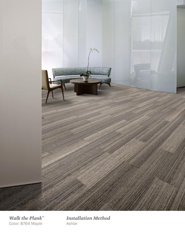 Interface Skinny Plank Carpet Tiles