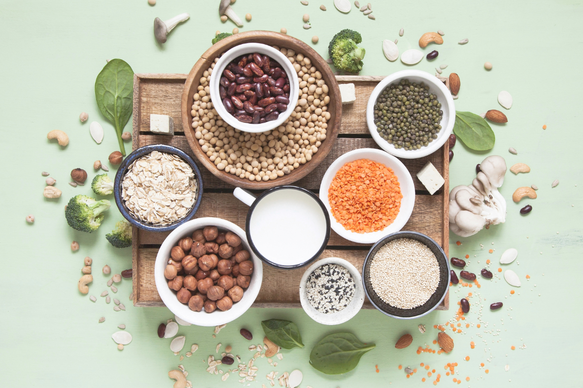 Plant-based proteins for beverages