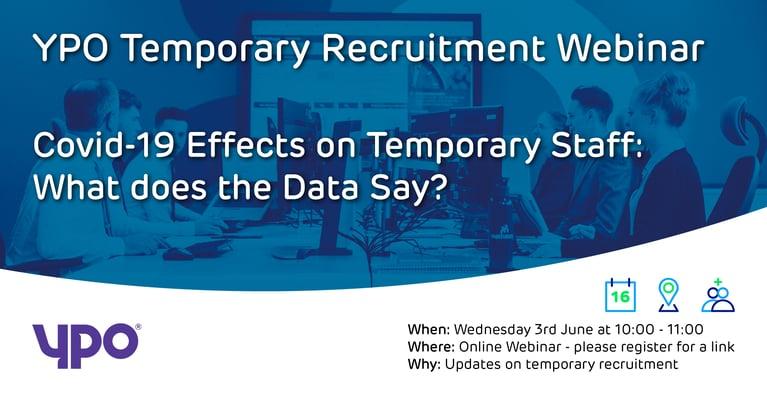 YPO Webinar on Temporary Recruitment 3rd June