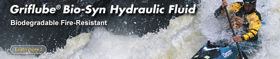 Griflube hydraulic fluids and lubricants