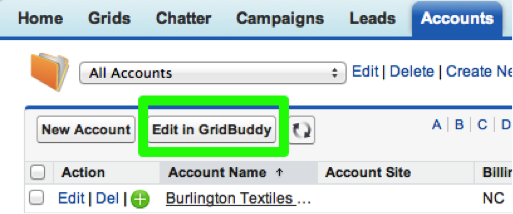 And the Edit In GridBuddy