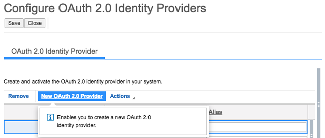 SSO and OAuth 2.0 Client Registration2