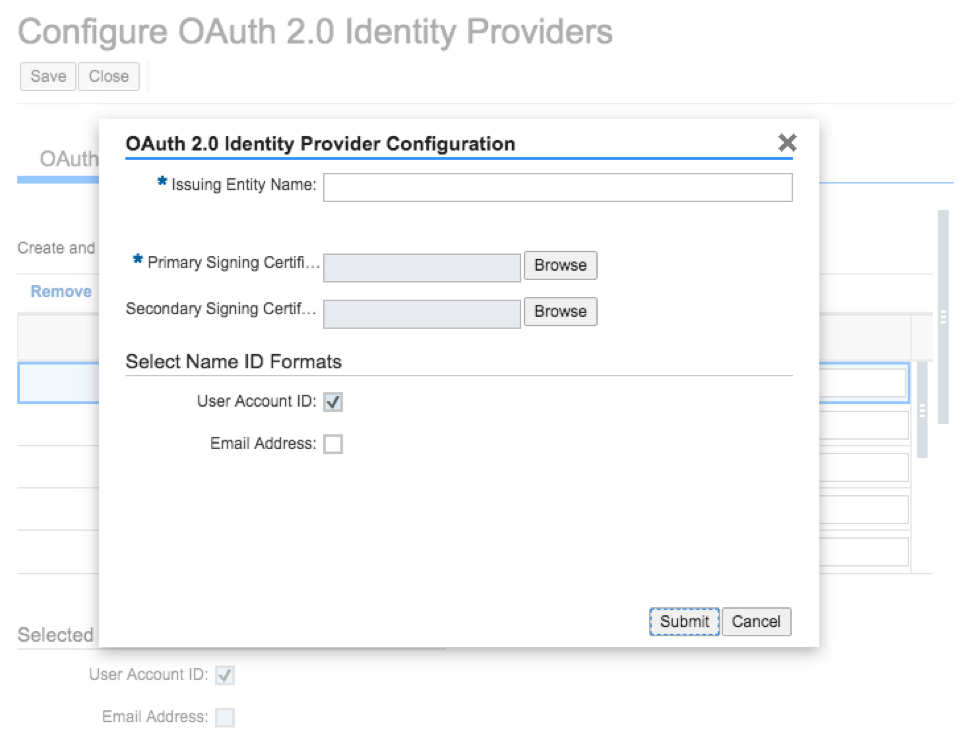 SSO and OAuth 2.0 Client Registration3