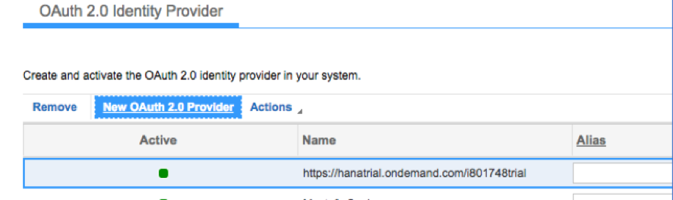 SSO and OAuth 2.0 Client Registration4