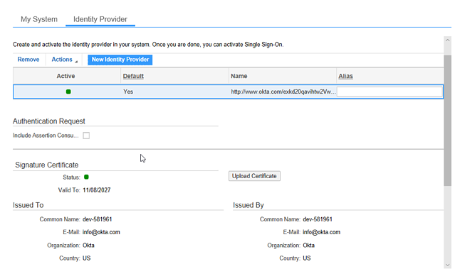 SSO and OAuth 2.0 Client Registration9