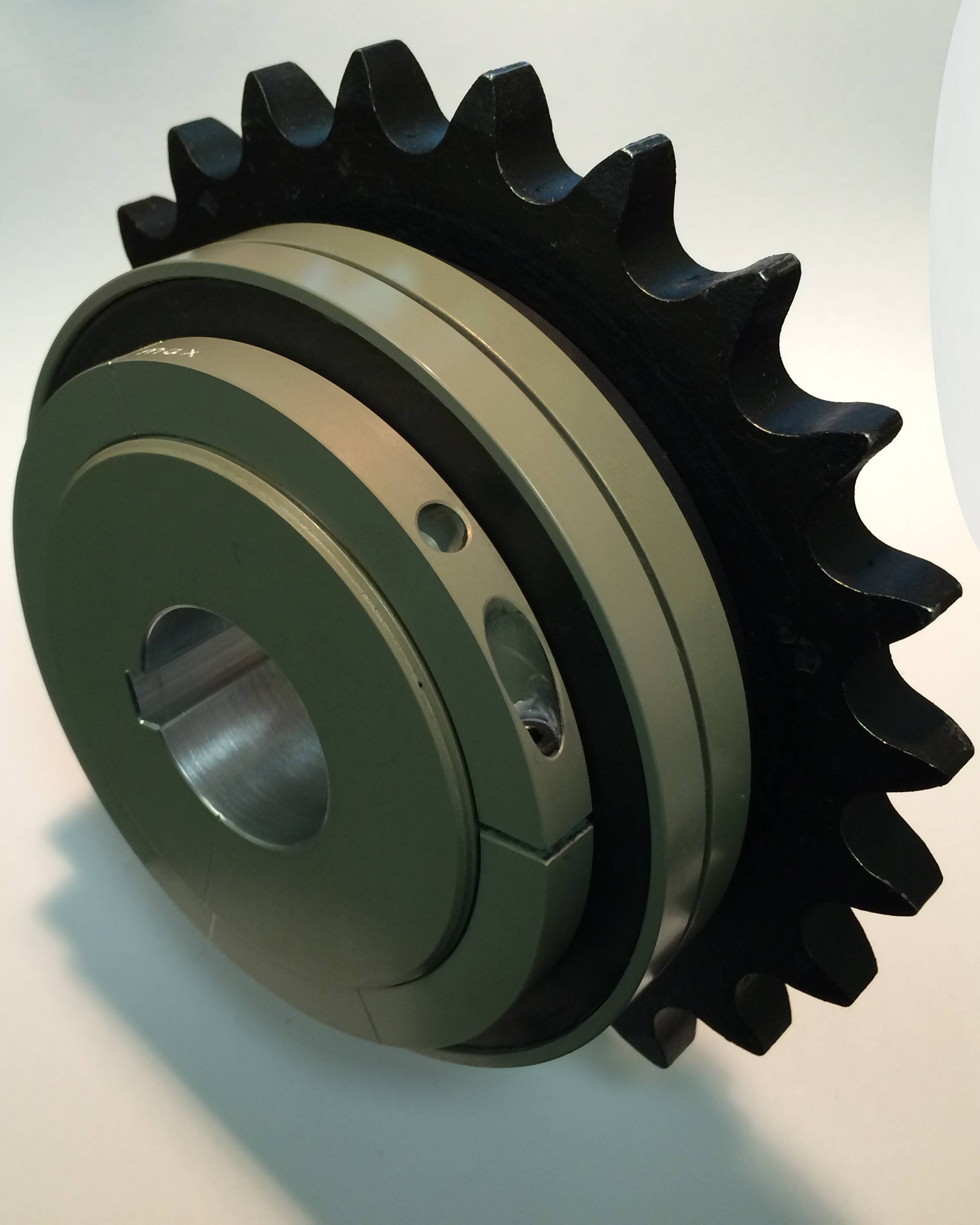 sprocket mounted to torque limiter