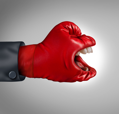 picture of boxing glove - dominate