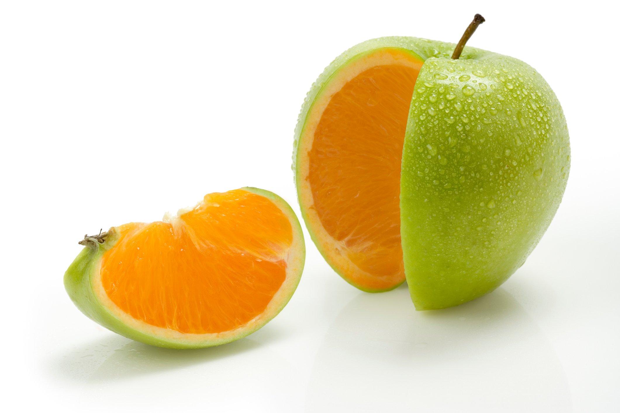 apples-to-oranges