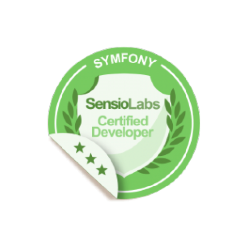 Symfony certified