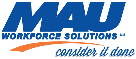 MAU Workforce Solutions logo