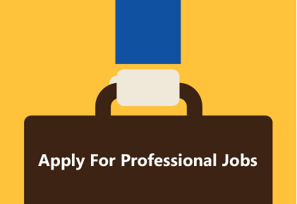 Apply for Professional Jobs