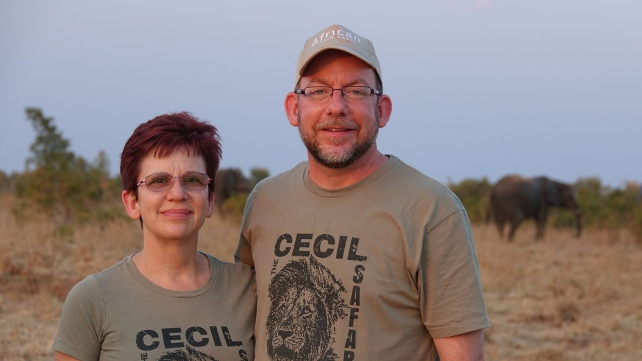 African Bush Camps Stacey & Dave Cecil couple2