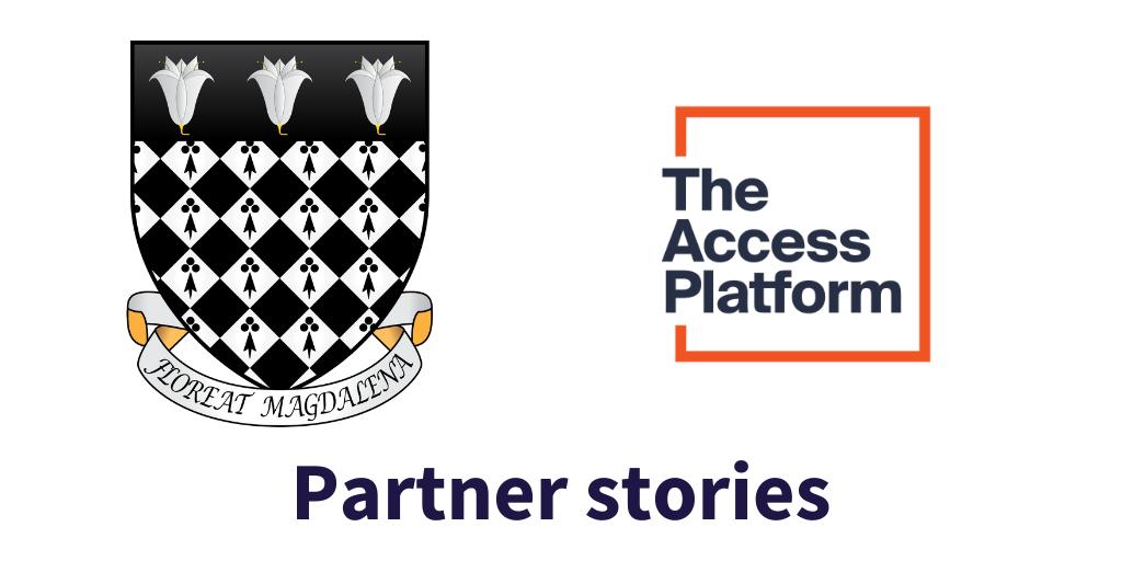 Partner stories: Magdalen College, University of Oxford