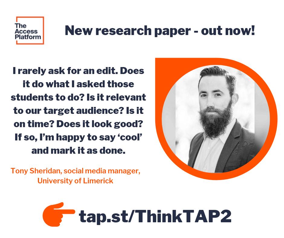 Students as content creators: University of Limerick case study