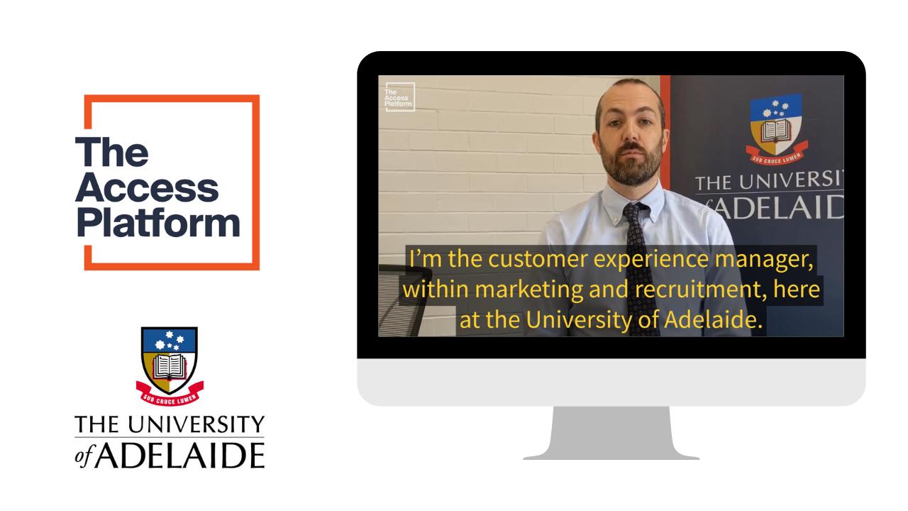 Partner stories: University of Adelaide & the power of peer recruitment