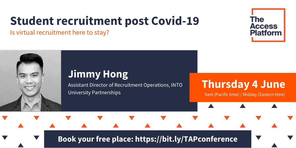 Meet our speakers: Jimmy Hong, INTO University Partnerships
