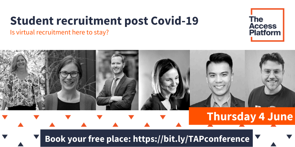 Join us to discuss the future of student recruitment post Covid-19
