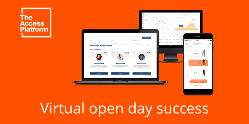 Coping during Covid-19; how to use TAP for virtual open day events