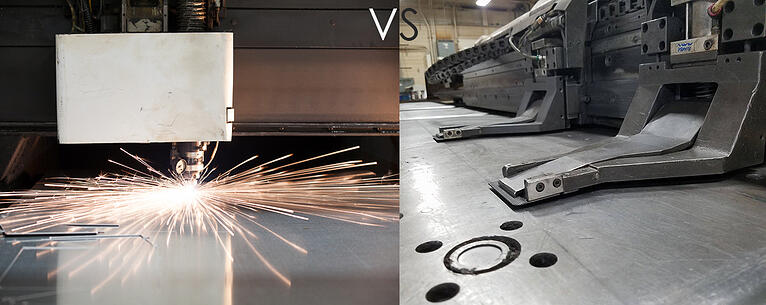 Laser vs. Turret Punch: Which is the Best Option for Your Industrial Needs