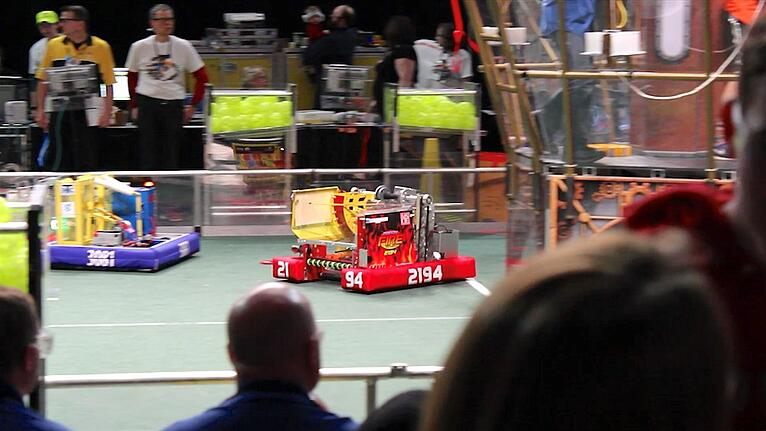 HUI-Sponsored Robotics Team are Semifinalists at World Championship