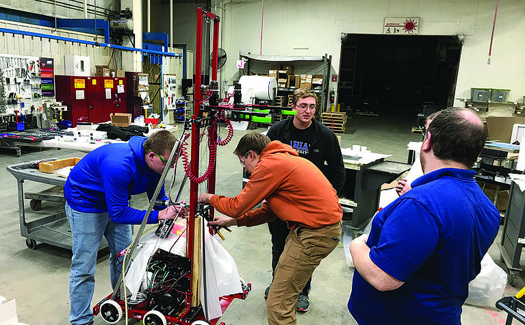 Can a Fun Robotics Competition Spark New Interest in the Manufacturing Industry?