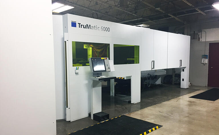 New TRUMPF Machine at HUI Set to Improve Production Speed
