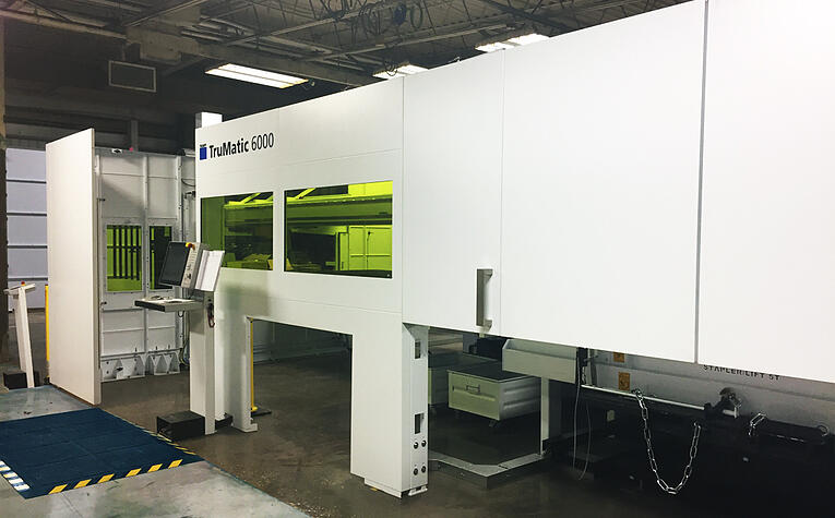 TruMatic 6000 TRUMPF - New Machine at HUI