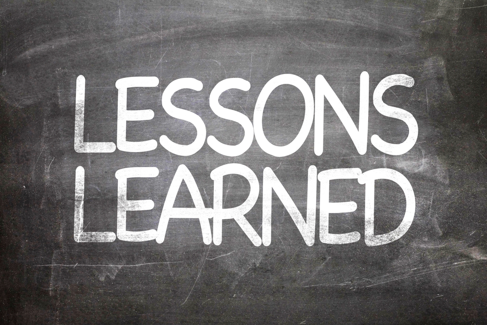 Common app essay about lessons learned