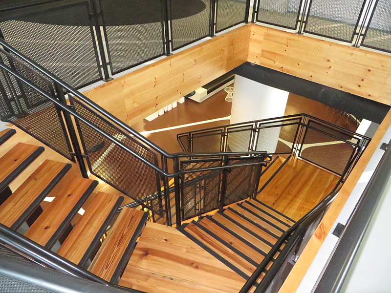 Staircase img college for Office stairs design