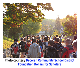 Decorah Community School District Foundation Dollars for Scholars