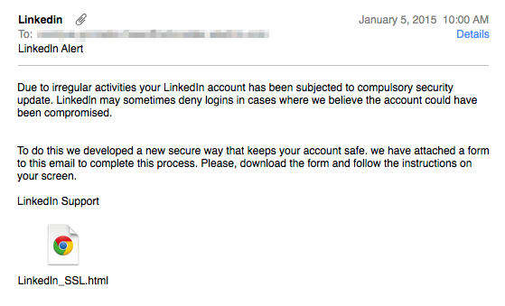 Scam Of The Week: LinkedIn Support Phishing Emails