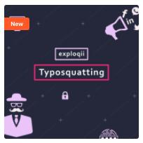 Exploqii Typosquatting