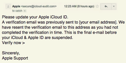 Scam Of The Week: Apple ID Suspension Phish With A Twist