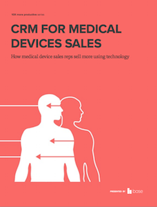 CRM for medical devices sales