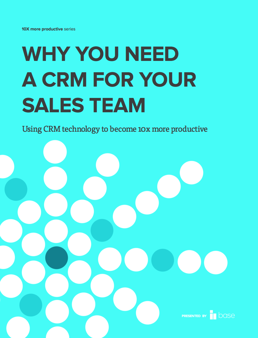 Why you need a CRM for your sales team