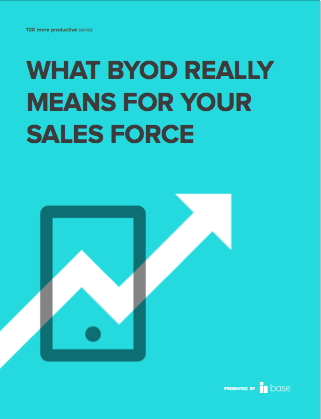 What BYOD really means for your sales force
