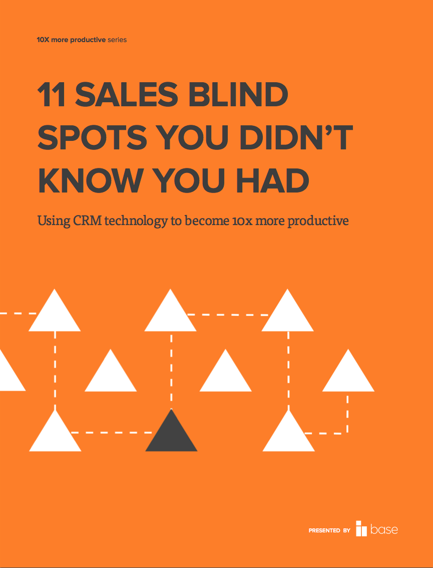 11 sales blind spots you didn't know you had