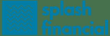 Splash financial blue