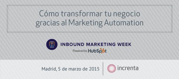 Inbound Marketing Week 2015 | INCRENTA