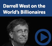 Darrell West on the World's Billionaires