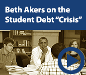 Beth Akers on the Student Debt Crisis