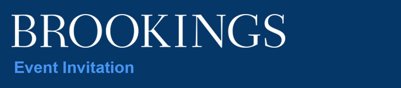 Brookings Event Invitation
