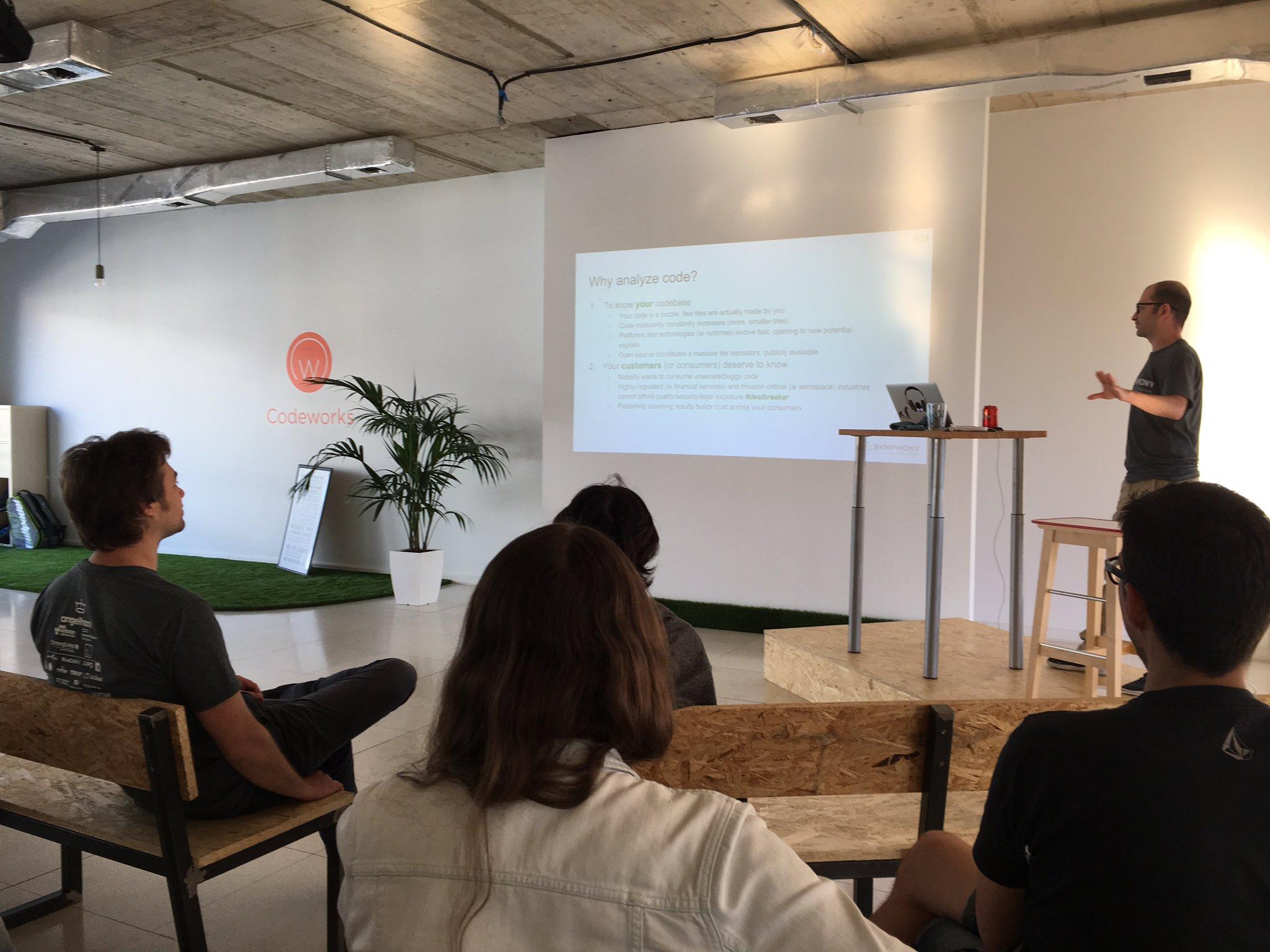 Maurizio Pillitu at Social Code Scanning