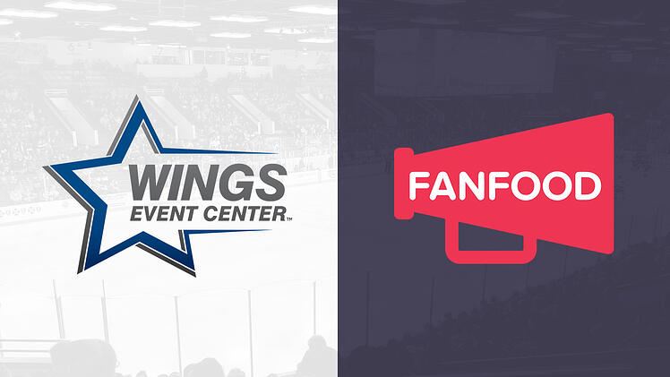 Wings Event Center Partners With Contactless Mobile Ordering Tech Company FanFood