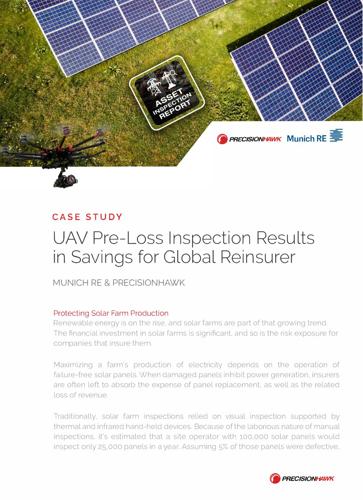 UAV_Pre-Loss_Inspection