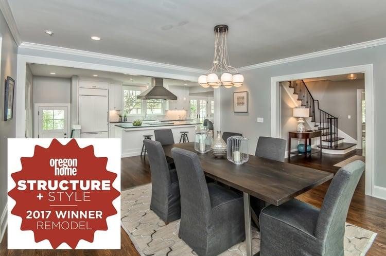 Mediterranean Home Remodel Wins Portland Remodeling Award