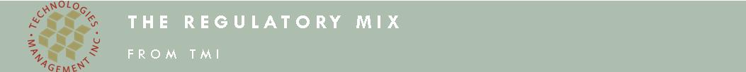 The Regulatory Mix