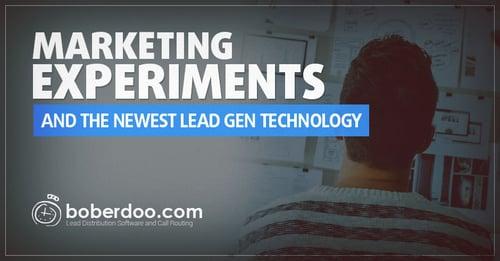 Marketing Experiments Lead Generation