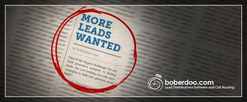 How To Get Leads - boberdoo.com
