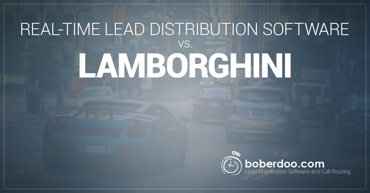 real time lead distribution software
